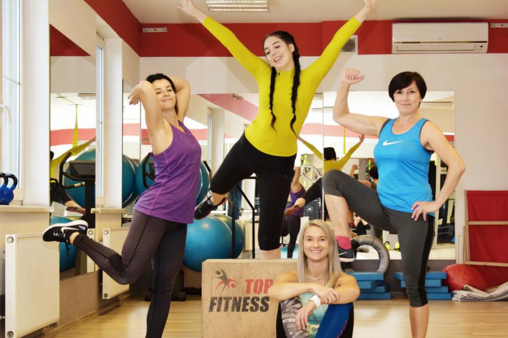 Dzień otwarty klubu Top Fitness Cieszyn Siłownia & Fitness za free